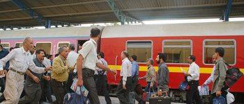 قیمت بلیت قطار ۱۰ درصد زیاد کردن یافت